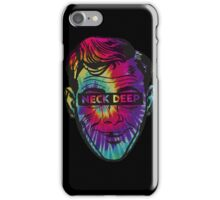 Neck Deep Tie-dye iPhone Case/Skin