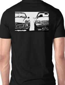 Mercedes Old And New Unisex T-Shirt