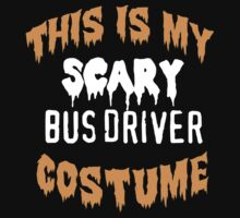 Limited Edition 'This is my scary bus driver costume' Halloween T-Shirt by Albany Retro