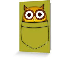 Pocket owl Greeting Card