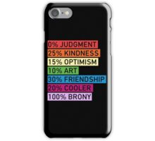 100% BRONY - MLP iPhone Case/Skin