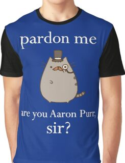 Hamilcat Art Design for Alexander Hamilton fans Graphic T-Shirt