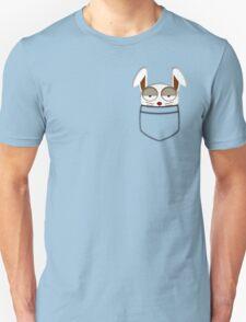 Pocket rabbit Unisex T-Shirt