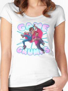 Game Grumps SHOUT Women's Fitted Scoop T-Shirt
