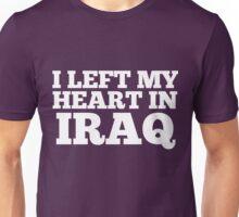 I Left My Heart In Iraq Love Native Homesick T-Shirt Unisex T-Shirt