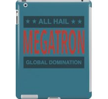 All Hail Megatron - II iPad Case/Skin