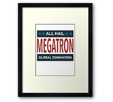 All Hail Megatron - II Framed Print