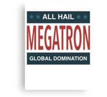 All Hail Megatron - II Canvas Print