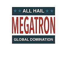 All Hail Megatron - II Photographic Print