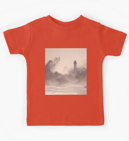 I'll be your lighthouse when you're lost at sea Kids Tee
