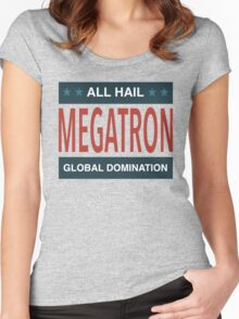 All Hail Megatron - III Women's Fitted Scoop T-Shirt