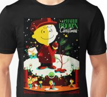 CHARLIE BROWN SNOOPY CHRISTMAS NIGHT APIAN Unisex T-Shirt
