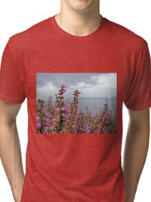 Heather in full bloom Tri-blend T-Shirt