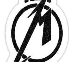 Metallica line M logo Sticker