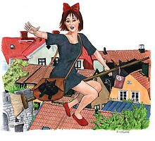 Out for Deliveries - Kiki's Delivery Service by Jesse Rubenfeld