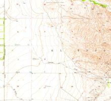 USGS TOPO Map California CA Tejon Hills 300824 1955 24000 geo Sticker
