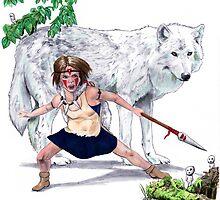 Princess Mononoke by Jesse Rubenfeld
