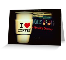 For The Caffeine Addicted Greeting Card