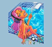 Smoking Mermaid Unisex T-Shirt