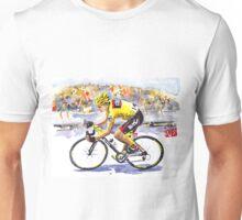 Cadel Evans: Yellow in Paris Unisex T-Shirt