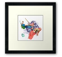 New Adventures - Adventure Time! Framed Print