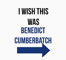 I Wish This Was Benedict Cumberbatch Womens Fitted T-Shirt