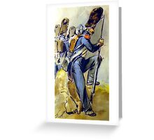 Napoleon Bonaparte 's Imperial Guard Greeting Card