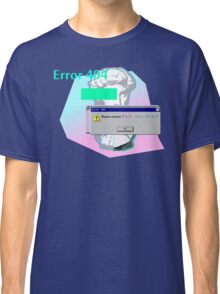 Vaporwave Error 404 Contact Classic T-Shirt