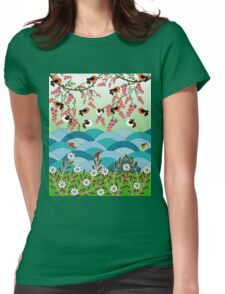wave 1 Womens Fitted T-Shirt