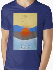 KAUAI Mens V-Neck T-Shirt
