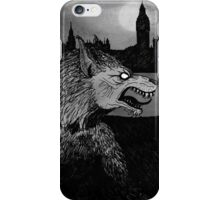 Werewolf in London iPhone Case/Skin