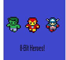 """8-Bit Heroes""  by Matsplat"