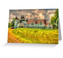 Hilltop Farm Greeting Card