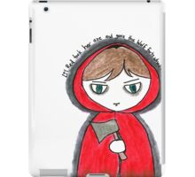 Once Upon a Crime - Li'l Red iPad Case/Skin