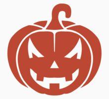 Pumpkin face halloween One Piece - Short Sleeve