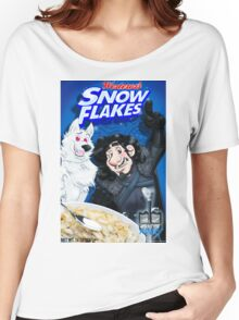 snow flakes Women's Relaxed Fit T-Shirt