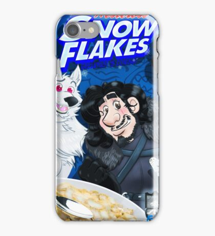 snow flakes iPhone Case/Skin