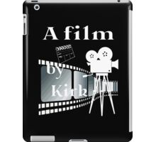 A film by Kirk  iPad Case/Skin