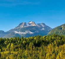 Fall time Begbie mountain, by RevelstokeImage