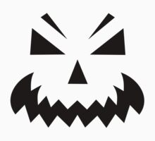 Scary pumpkin face One Piece - Long Sleeve