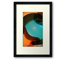 Abstract Lamp Framed Print