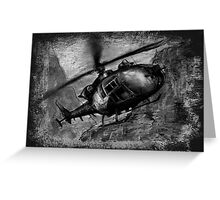 Gazelle Helicopter  Greeting Card