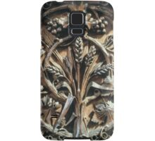 Wood Carving Priory church of St Mary Deerhurst England 198405140071 Samsung Galaxy Case/Skin
