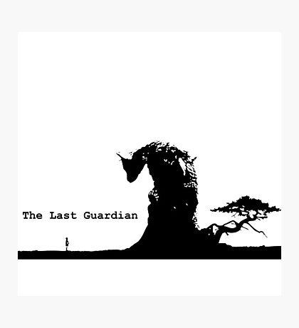 the last guardian Photographic Print
