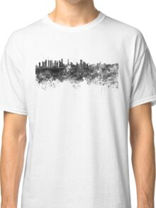 Belem skyline in black watercolor Classic T-Shirt