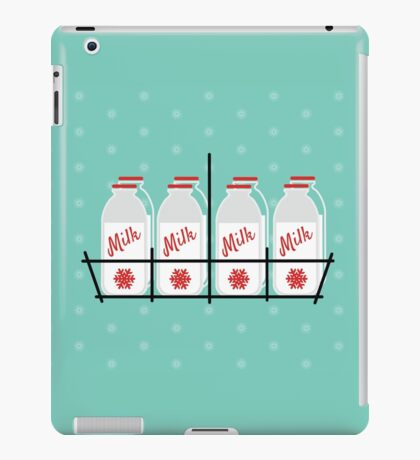 8 Maids a Milking iPad Case/Skin