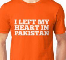 I Left My Heart In Pakistan Love Native Homesick T-Shirt Unisex T-Shirt