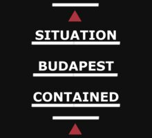 SAMARITAN of Interest Budapest Contained by REDROCKETDINER