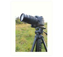 Nikon DSLR  Art Print
