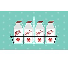 8 Maids a Milking Photographic Print